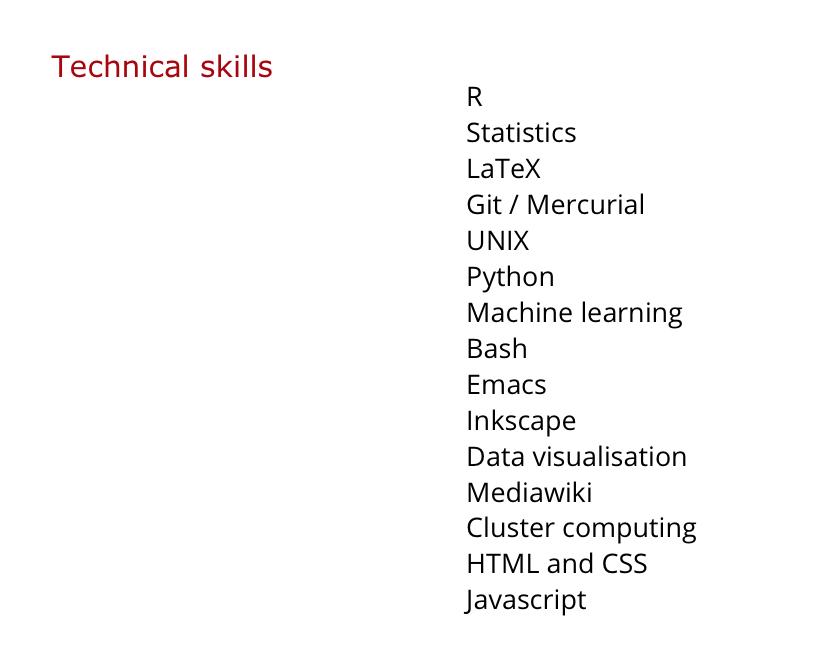 Building an academic CV in markdown · blm io