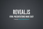 Reveal.js is a great looking HTML presentation framework from Hakim El Hattab.
